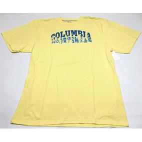 Remera Columbia Amarilla Sportswear Talle Xxxl