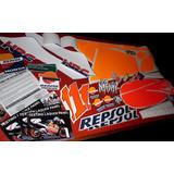 Replicas Calcos Graficas- Honda Nsr Repsol (mc16,18,21,28)