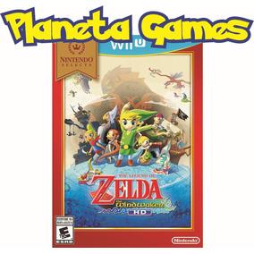 Zelda Windwaker Hd Nintendo Wii U Selects Fisicos Sellados
