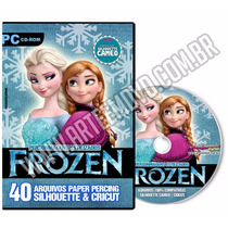 Dvd - Frozen - Silhouette / Scan N Cut / Cricut