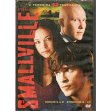 Box 4 Dvd Smallville - Terceira Temporada - Novo***