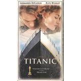 Vhs Duplo - Titanic - Leonardo Dicaprio - Winslet- Legendado