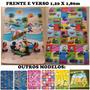 Tapete De Atividades Bebe/infant Carros X Mickey1,20x1,80
