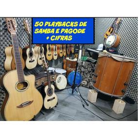 Playback 50 Samba E Pagode + Cifras Envio Imediato Mail