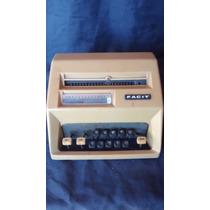 Máquina De Calcular Facit Antiga
