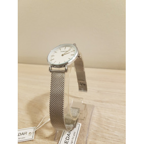 Reloj Mujer Pulsera Moda Tendencias Plata / Tiendahoderar
