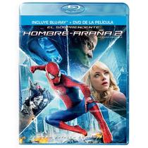 El Sorprendente Hombre Araña 2, Pelicula Combo Bluray + Dvd