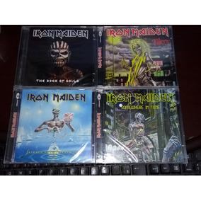 Lote 4 Cds Iron Maiden Lacrados
