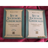 Derecho Comercial - Sociedades - Ley 19550 Comentada -nissen