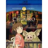 El Viaje De Chihiro Studio Ghibli Hayao Miyazaki Blu-ray
