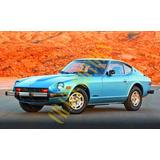 Manual De Taller - Reparacion Nissan Datsun 280z 76 - 83 *