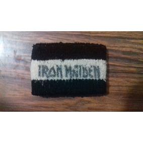 Munhequeira Iron Maiden 82-83 Original Ultra Raro