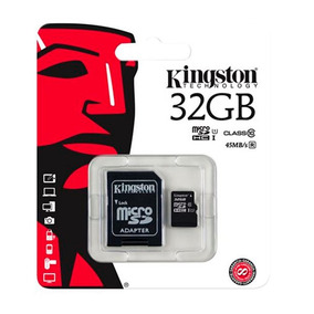 Memoria Micro Sd 32 Gb + Adaptador Kingston Acc Amovil