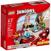 Lego Juniors - Homem De Ferro Contra Loki 10721