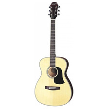 Guitarra Acustica Folk Sin Corte Aria Af20 Color Natural