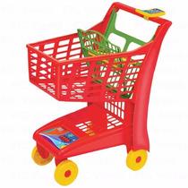Carrinho Market Vermelho - Magic Toys - 12x S/ Juros