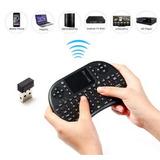 Mini Teclado Inalámbrico Con Receptor Bluetooth Para Tv Box