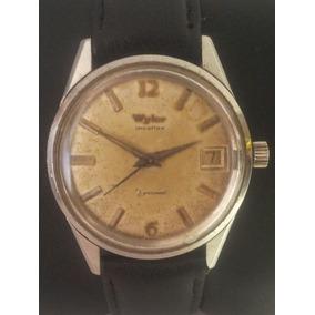Reloj Suizo Wyler. Automatico. Caja Monoblock, Acero Inox.