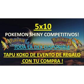 Pokemon Shiny Competitivos Or/as X/y/sun/moon