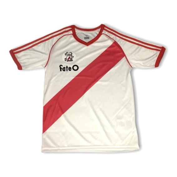 River Plate Retro Titular 1986 Escudo Leon Campeon De Todo