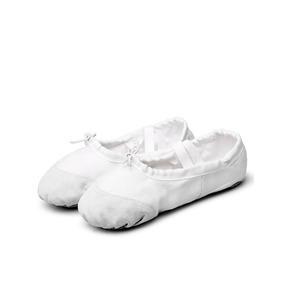 Zapatilla Ballet Danza Gimnasia Niñas Flexibles Tela Gamuza