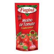 Molho De Tomate Tradicional Fugini Sache 340 G