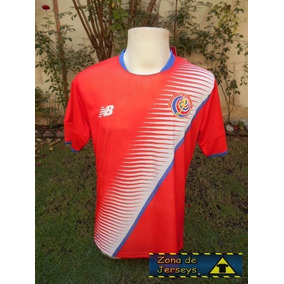 Jersey Costa Rica Local 2017 New Balance Roja ¡ Pura Vida