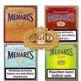Cigarros Agio Meharis Varios Sabores Caja X 10