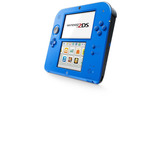 Consola Videojuego Nintendo 2ds Blue Alectric + Mario Kart 7