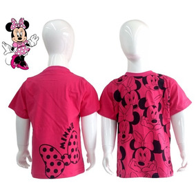 Lançamento Camiseta Infantil Fantasia Personagem Minnie