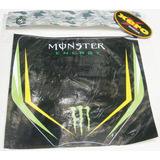 Calco Porta Numeros Motocross Monster En Xero Racing