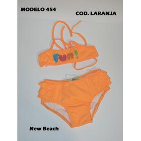 Biquini New Beach Jeans Infantil - Moda Praia em São Paulo no ... 4054944153