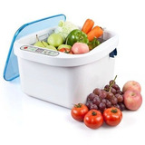 12.8 L Ozono Ultrasonido Verdura Fruta Esterilizador...