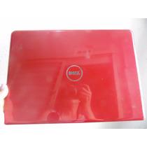 Tampa Da Tela (topcover) Carcaça Vermelha P Dell Insp N4030