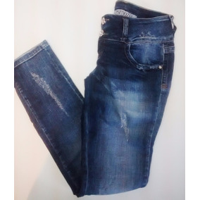 Calça Jeans Feminina Desfiada| Marca Osmoze | Nº 38
