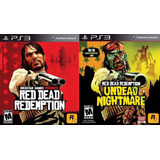 Red Dead Redemption + Dlc Ps3 Digital || Español || Envio Ya
