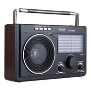 Bocina Portatil Radio Am Fm Usb Aux Bluetooth Recargable