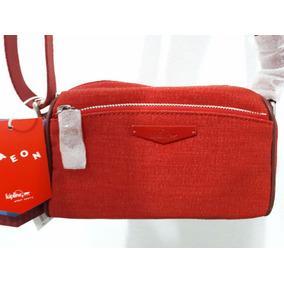 Mini Bolsa Roja Cruzada Kipling Original Nueva Con Etiquetas