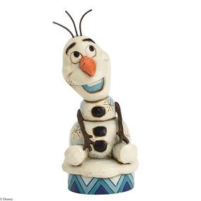 Disney Traditions Unesco Frozen Olaf Colección Artist 10cm
