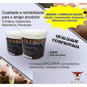 Suicav 10kg - Núcleo P/ Ração De Suínos + Brinde Fab: Jul/18