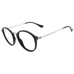 f609771185908 Armação Para Óculos De Grau Aviador Ray Ban Original - Óculos Preto ...