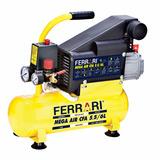 Compressor De Ar Mega Air Cfa 5.5/6l Com Kit Ferrari -bivolt