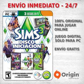 Los Sims 3 Starter Pack + Expansion Juego Pc Original Oferta