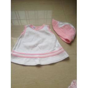 Conjunto Vestido Niña 4 Piezas 0-3 Meses