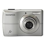 Maquina Câmera Fotográfica Digital Olympus Fe-26 12mp Prata
