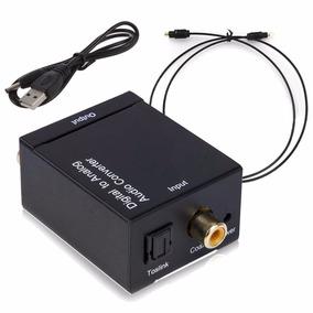 Convertidor De Audio Digital A Análogo Óptico Rca Compuesto