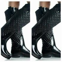 Botas De Lluvia ! Super Elegantes ! Impermables !