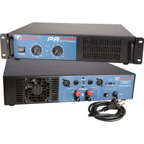 Amplificador Potencia New Vox Pa 1200 - 600 Watts Rms
