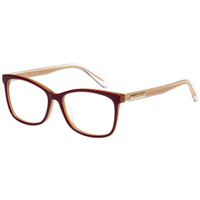 332801d0cf78e Óculos De Grau Victor Hugo Vh1766 09cg 53 Bordô bege
