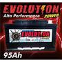Bateria De Competição Evolution 95ah Spl Para Som Automotivo
